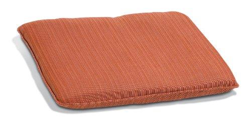 - Oxford Garden 2-Foot Backless Bench Cushion, Dupione Papaya