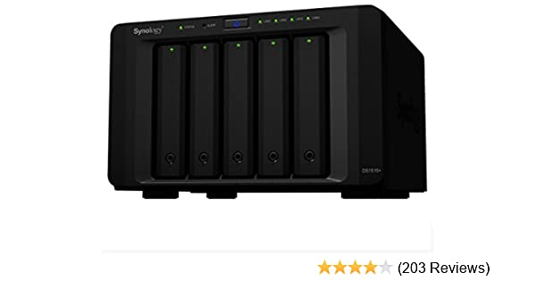 Synology 5 bay NAS DiskStation DS1515+ (Diskless)
