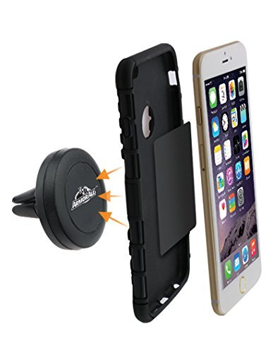 Armor All AMH3-1001-BLK Magnetic Phone Vent Mount
