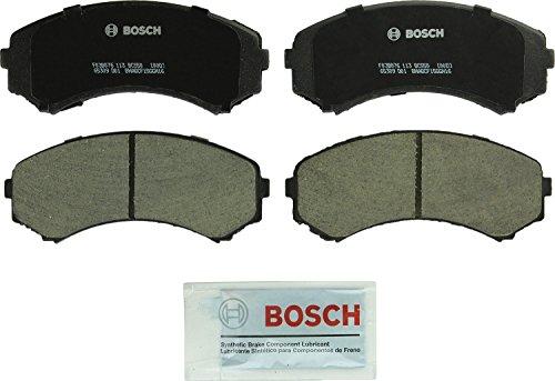 Bosch BC550 QuietCast Premium Ceramic Disc Brake Pad Set For Select Honda Passport; Isuzu Axiom, Rodeo, Rodeo Sport; Mazda MPV; Mitsubishi Endeavor, Montero; Front
