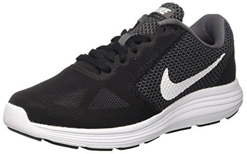 Nike Women Revolutie 3 Loopschoenen Grijs (donker Grijs / Wit-zwart)