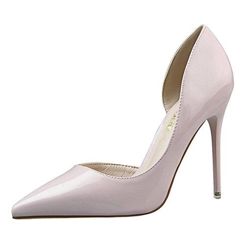 Gray D'Orsay Zapatos de Mujer Para Tacon Light RAZAMAZA Alto 8waHdqw5