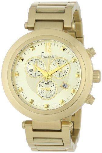 Freelook Women s HA1136CHMG-3B Cortina Matte Gold Chronograph Watch
