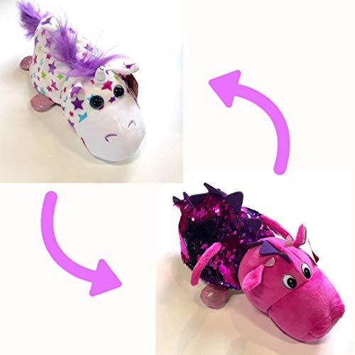 FlipaZoo Sequin Stella Unicorn/AKI Dragon