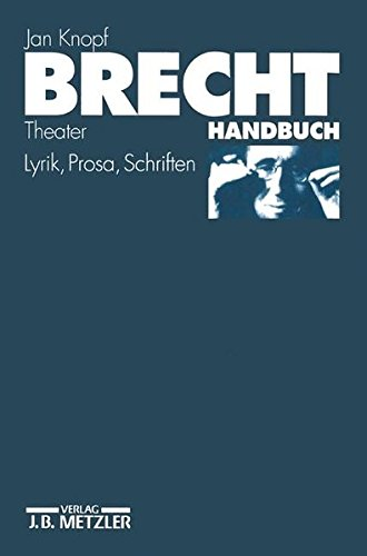 Brecht Handbuch: Theater Eine Asthetik Der Widerspruche