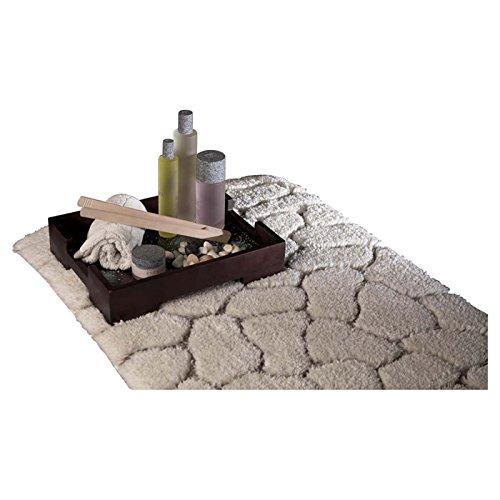 Welspun Pebble por graccioza colección pebl-btrg-mr-01 100% algodón Toalla de Pebble, Color Blanco Roto: Amazon.es: Hogar