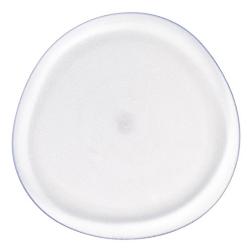 Pebble Collection White Dinner Plate