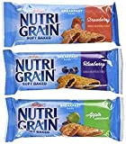 Nutri-Grain-Kellogg's Cereal Bars Variety Pack, 1.3 oz (Variety, 72)