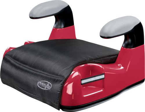 Evenflo Big Kid AMP No Back Booster Car Seat, Red, Baby & Kids Zone