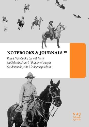 Quaderni a Righe Notebooks & Journals, Cavalli (Vintage Collection), Extra Large: Soft Cover (17.78 x 25.4 cm)(Taccuino appunti,Taccuino di viaggio) (Italian Edition)