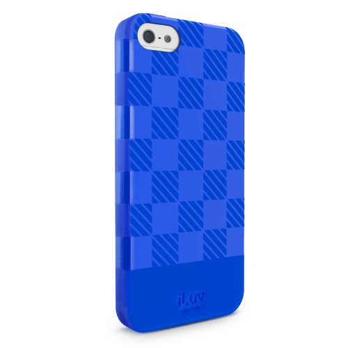 iLuv ai5g elcbl Ultrathin Soft coque pour Apple iPhone 5/5S en Bleu