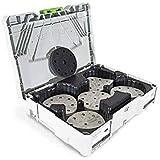 Festool 576676 Granat Abrasive Assortment Systainer for 5-inch Sanders