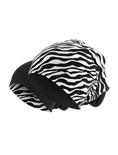 Colores in 2 1 zebra punto schwarz Reversible 48 Gorro Gorro Largo 1 en en invierno Slouch 2 Gorro de de Yg6awUq