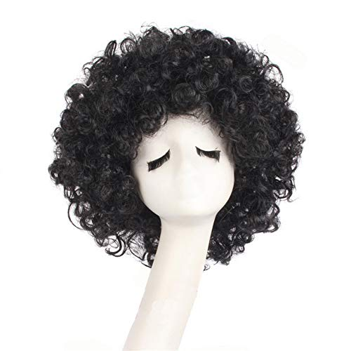 Curly Clown Wig Halloween Cosplay Wigs with Wig