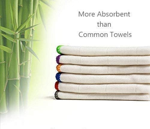 25 LB ASSORTED STRIPE BAR TOWELS WIPERS CLEANING CLOTHS LOW LINT HERRINGBONE