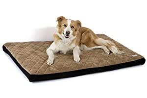 Orthopedic MemoryFoamWaterproof PetBed   Cat & Dog Mattress With Washable Removable Cover - Komfy K9 Pet Bedding For Pet Owners