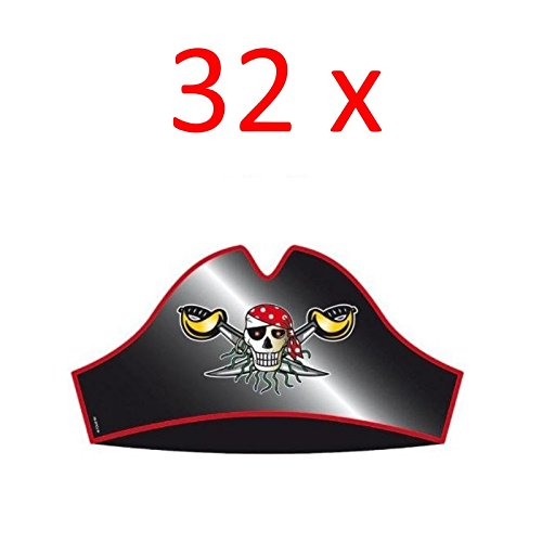 Folat Piratenhüte (16 Stück)