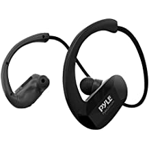 Upgraded V2 Flextreme Waterproof MP3 Player Sports Wearable Headset Music Player 8GB Underwater Swimming Jogging Gym Earphones Rechargeable Flexible Headphones USB Connection (PSWP29BTBK)