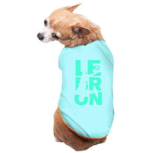 Jade Unique LeBron 23# James Basketball Player Pet Dog Sleeveless SkyBlue Size L