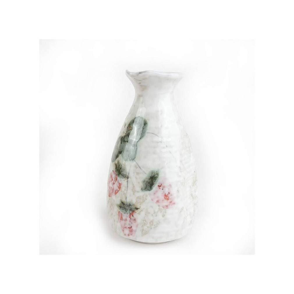 lachineuse Servicio DE Sake Dise/ño Floral japon/és Sakura Vert Ambiente Zen