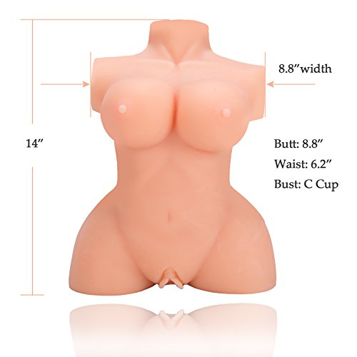Y-Not 3D Realistic Sex Love Doll Silicone Male Masturbator Sex Dolls 12 pounds Flesh Color