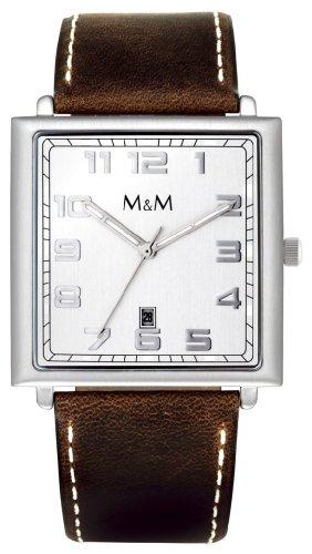 "M&M Men's Watch ""Unlimited"" Dial Color Silver"