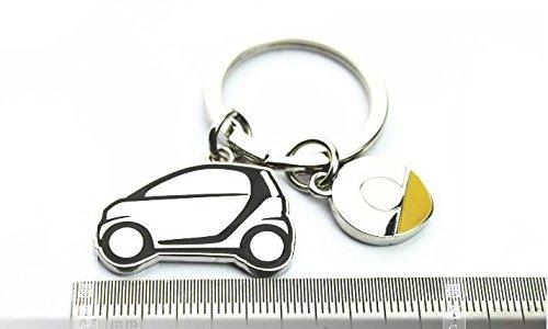 451 Smart fortwo FidgetGear Stainless Steel Smart Car Key Chain