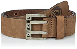 Diesel Men's Bit Belt, Bison, 75