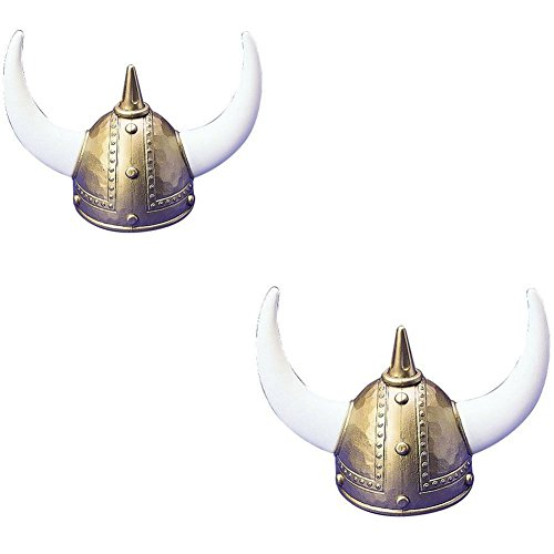 US Toy One Adult Plastic Viking Helmet - 2 ()