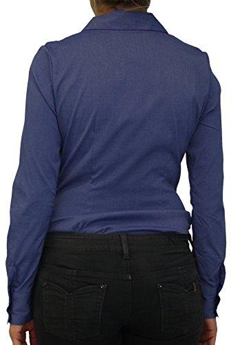 Extra Me - Camisas - Manga Larga - para mujer Azul