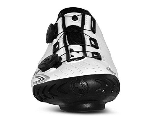 Bont Vaypor+ Zapatillas de Ciclismo Carretera Blanco Talla 42