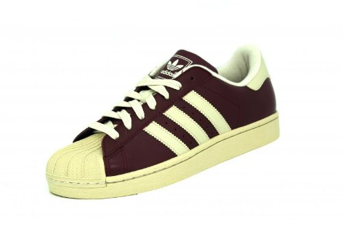 Adidas SUPERSTAR II Burdeos Mixto Sneaker, Zapatillas Adidas T:39 1/3: Amazon.es: Zapatos y complementos