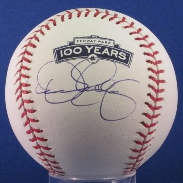 Dennis Eckersley of the Boston Red Sox Signed OML MLB 100 Year Fenway Park Baseball Hall of Fame HOF MLB COA