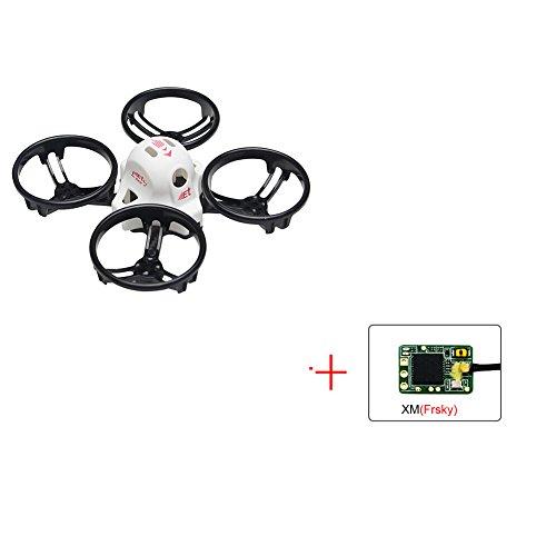 KINGKONG/LDARC ET100 PNP Brushless FPV RC Racing Drone Mini Quadcopter (XM(Frsky) receiver)