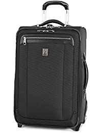 Platinum Magna 2 Carry-On Expandable Rollaboard Suiter Suitcase, 22-in, Black