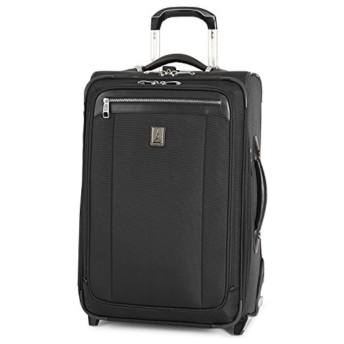 Travelpro Platinum Magna 2 Carry-On Expandable Rollaboard Suiter Suitcase, 22-in., Black Ballistic Nylon Luggage Sets
