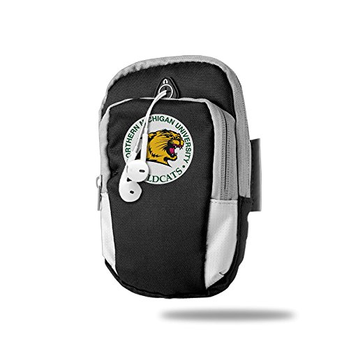 Northern Michigan University Personality Portable Armband For Outdoor SportS