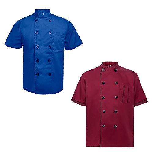 blue chef coat - 8
