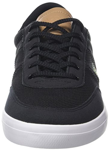 Men Schwarz 1 ma Court Lt noir 118 Came tre Lacoste Tan Chaussure qRYB8wwI6x