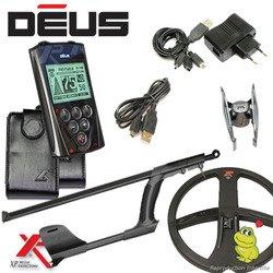 Metal Detectors Xp-Detector De metales Deus Rc1-Tecnología inalámbrica con mando a distancia-Dd disco con protector para disco-Caña telescópica En S: ...