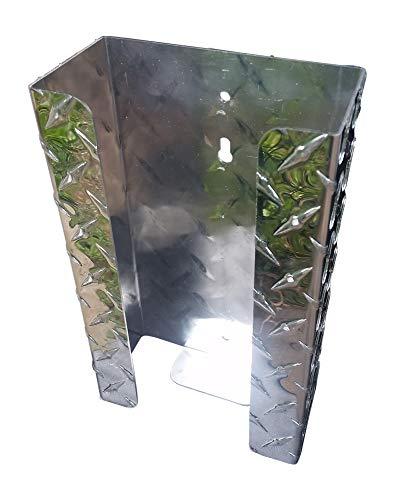 - Glove Holder, Diamond Plate Aluminum (No Hardware)