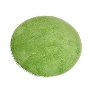 Enerhu moderna shaggy alfombra redonda alfombrilla for Alfombra redonda verde