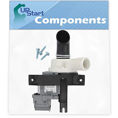 Price comparison product image W10536347 Washer Drain Pump Replacement for Maytag MTW6700TQ0 Washing Machine - Compatible with W10217134 Water Pump - UpStart Components Brand