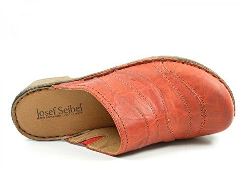 Josef Seibel Rebecca 59 - Zuecos Mujer Rojo (Rot)