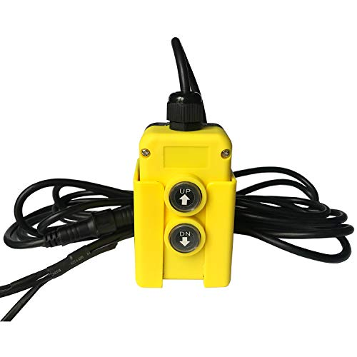 4 Wire Dump Trailer Remote Control Switch for Dump Trailer with 12V DC Double Acting Hydraulic Pumps Truck