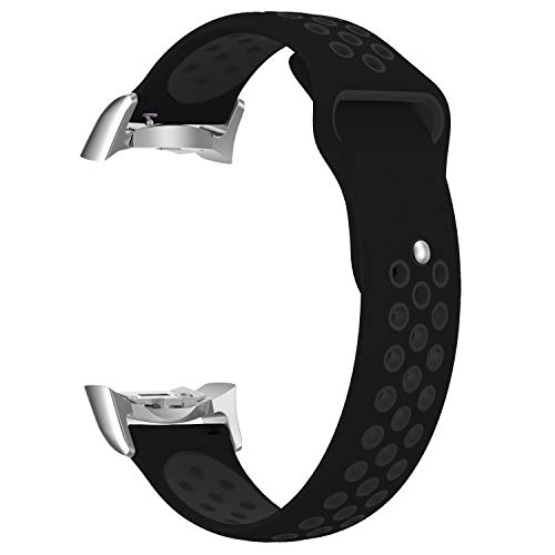 HighlifeS Silicone Sports Watch Band for Samsung Gear S2 SM-R720 / SM-R730 with Adapter (A)