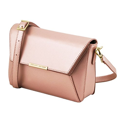 pelle Rosa Celeste Leather in Bag TL Tuscany Pochette metallic wqOAawZB