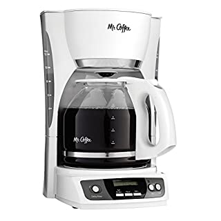Mr. Coffee CGX20-NP 12-Cup Programmable Coffeemaker, White (B000BR391E) | Amazon price tracker / tracking, Amazon price history charts, Amazon price watches, Amazon price drop alerts