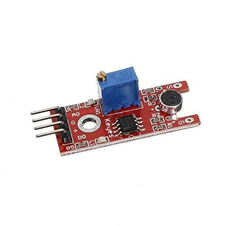 Módulo micrófono de voz Sensor de Sonido para Arduino: Amazon.es: Bricolaje y herramientas