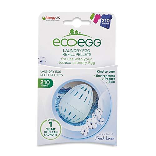Ecoegg Laundry Egg Refill, 210 Loads, Fresh Linen (Best Eco Nappies Uk)
